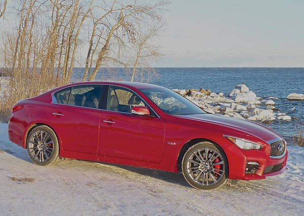 Nissan's upscale Infiniti brand has a new gem in the Q50 sedan. Photo credit: John Gilbert