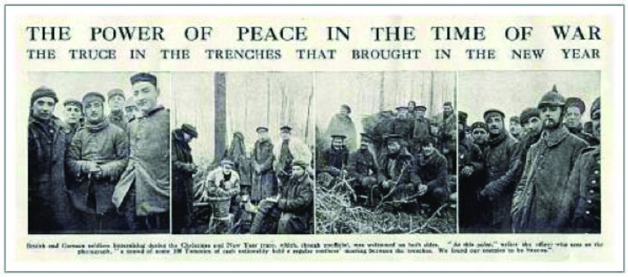 Remembering the Power of the Christmas Truce of 1914
