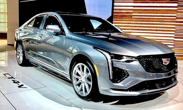Cadillac has redone its sporty sedan -- the CT4-V with new power and luxury. Photo credit: John Gilbert