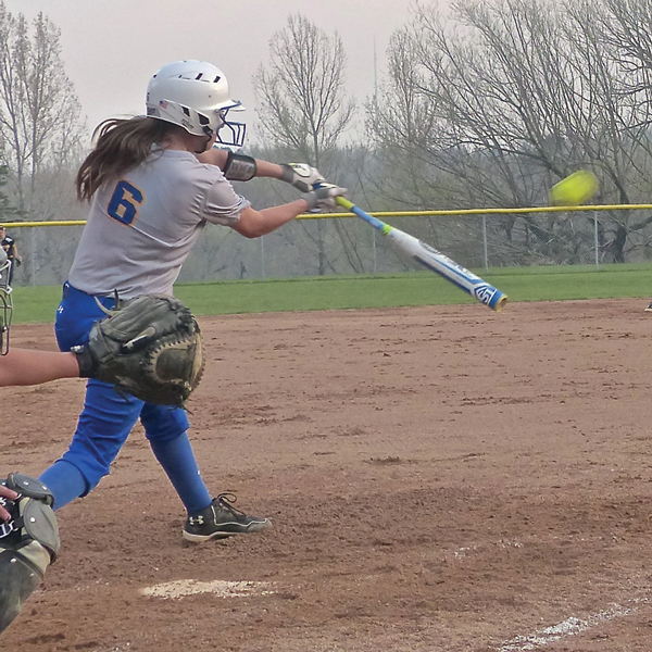 St. Scholastica's Alexa Bremer hit a fly to right that was caught to end the 1-0, 11-inning victory by UWS.