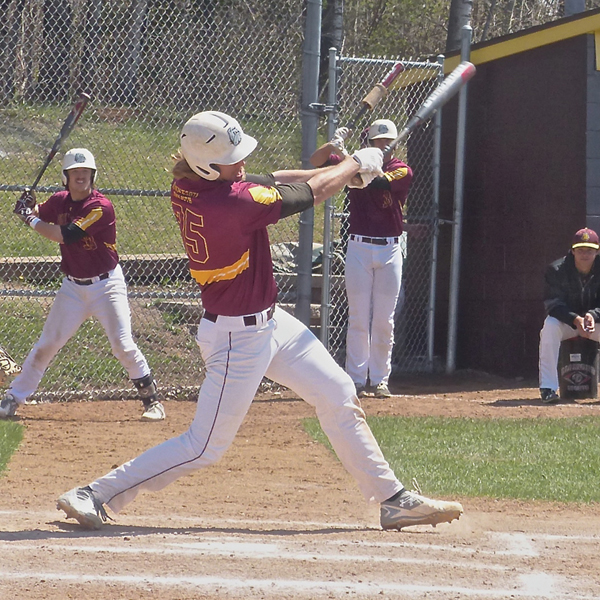 UMD's slugging Bulldogs are led by Alex Wojciechowski, who leads the nation with 33 home runs. Photo credit: John Gilbert