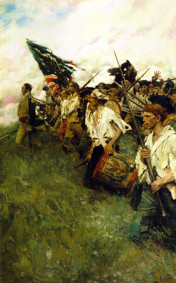 Howard Pyle's painting The Nation Makers